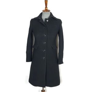 J.Crew Petite Double-Cloth Metro Coat Womens 00P